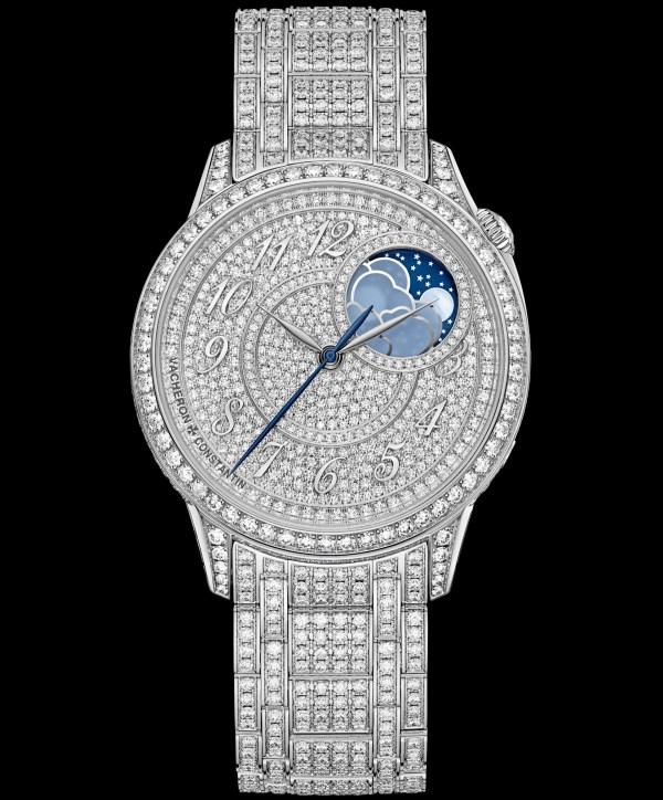 Vacheron Constantin Égerie moon phase jewellery watch
