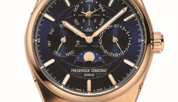 Frederique Constant Highlife Perpetual Calendar Manufacture in 18-carat Rose Gold
