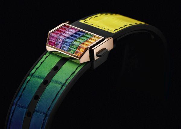 Hublot Big Bang Unico Full Baguette King Gold Rainbow watch