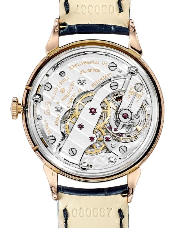 Vacheron Constantin 18K pink gold complete calendar wristwatch – model 4240 – 1947