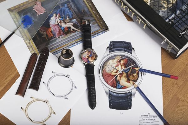 Vacheron Constantin Les Cabinotiers Bid for the Louvre The Loves of Paris and Helen