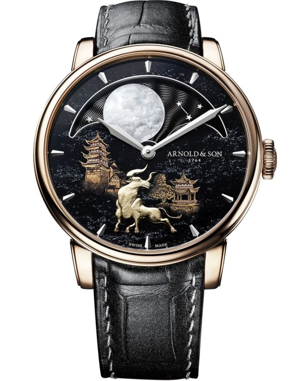 """Arnold & Son Perpetual Moon """"Year of the Ox"""" Limited Edition"""