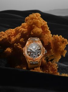 Hublot Big Bang Tourbillon Automatic Orange Sapphire Limited Edition