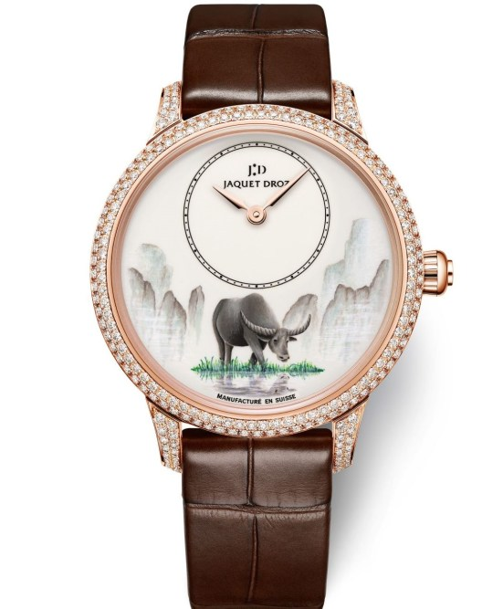 Jaquet Droz Petite Heure Minute Buffalo, the Chinese New Year Editions