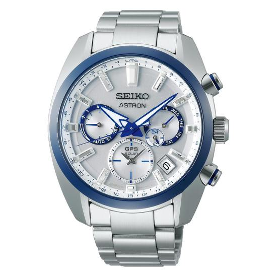 Seiko 140th Anniversary Limited Editions - Astron GPS Solar Dual-Time 5X53: SSH093