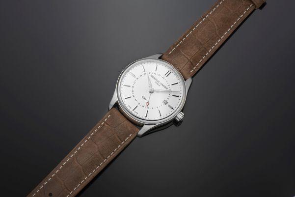 Frederique Constant Classics Quartz GMT watch