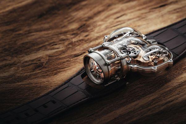 MB&F Horological Machine N°9 'Sapphire Vision'