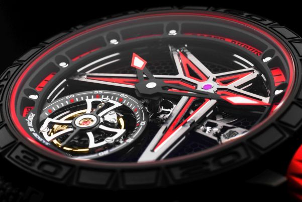 Roger Dubuis Excalibur Spider and Excalibur Spider Pirelli