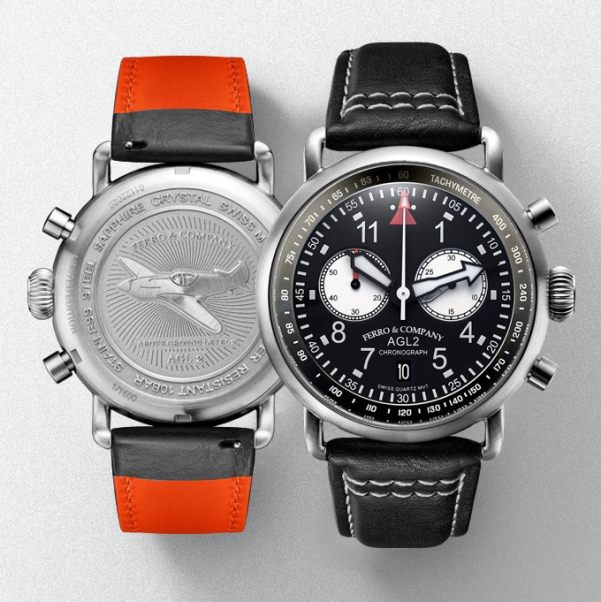 Ferro &Co AGL 2.0 Chronograph with Ronda Quartz movement 6