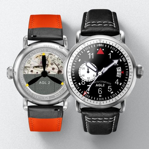 Ferro &Co AGL 2.0 Watch with Miyota Automatic 8217 movement