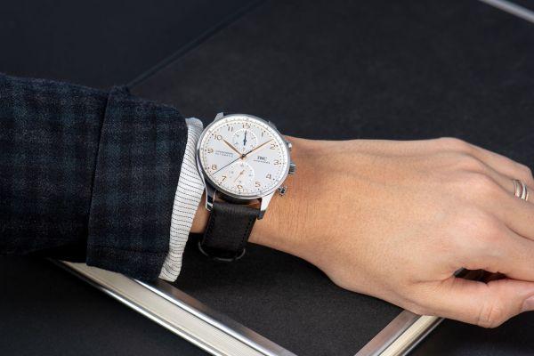 IWC Schaffhausen Launches New Timbertex Paper Based Watch Straps