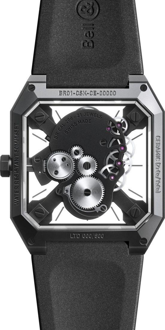 Bell & Ross BR 01 CYBER SKULL