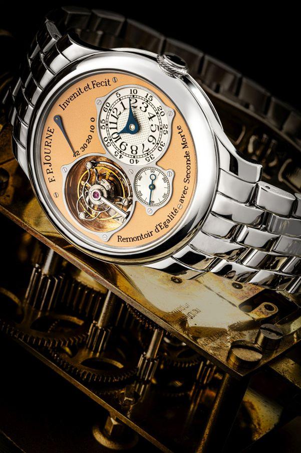 F.P.Journe Tourbillon Souverain platinum watch