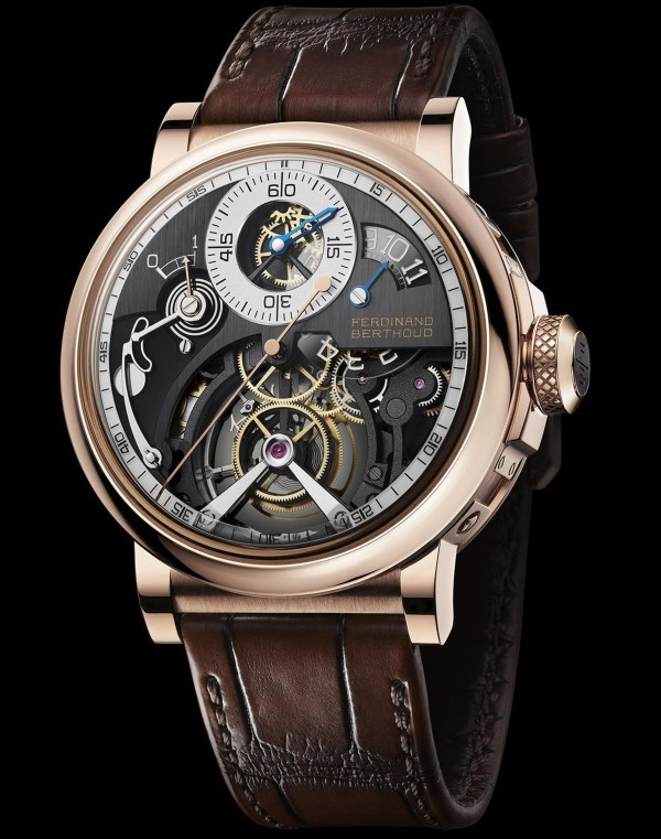 Ferdinand Berthoud Chronomètre FB RS Limited Edition watch in 18 carat rose gold