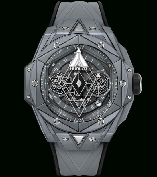 Hublot Big Bang Sang Bleu II Grey Ceramic Limited Edition