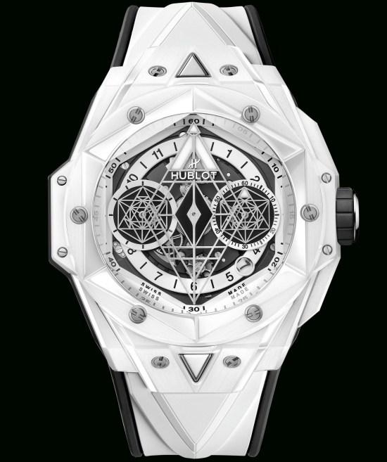 Hublot Big Bang Sang Bleu II White Ceramic Limited Edition