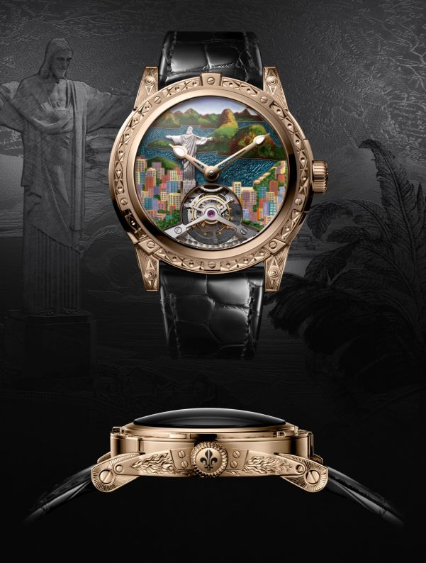 Louis Moinet 8 Marvels of the World - Statue of Christ the Redeemer