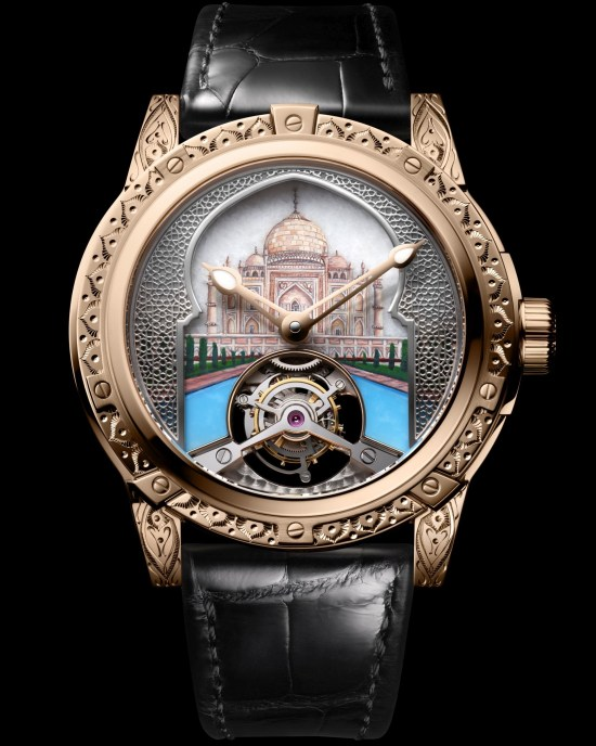 Louis Moinet 8 Marvels of the World - Taj Mahal