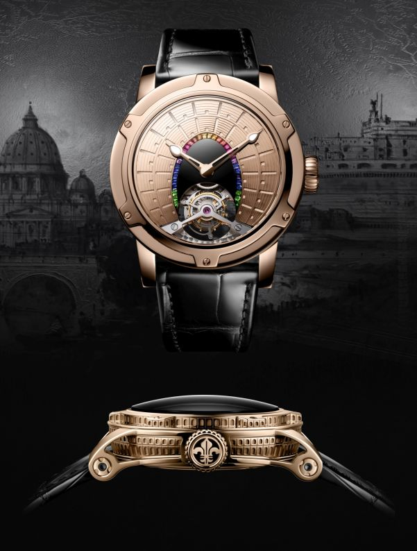 Louis Moinet 8 Marvels of the World - The Colosseum