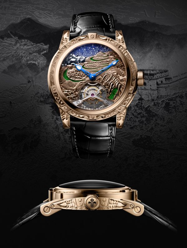 Louis Moinet 8 Marvels of the World - The Great Wall of China