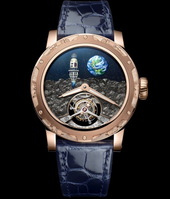 Louis Moinet Moon Race watch First on the Moon - 1966