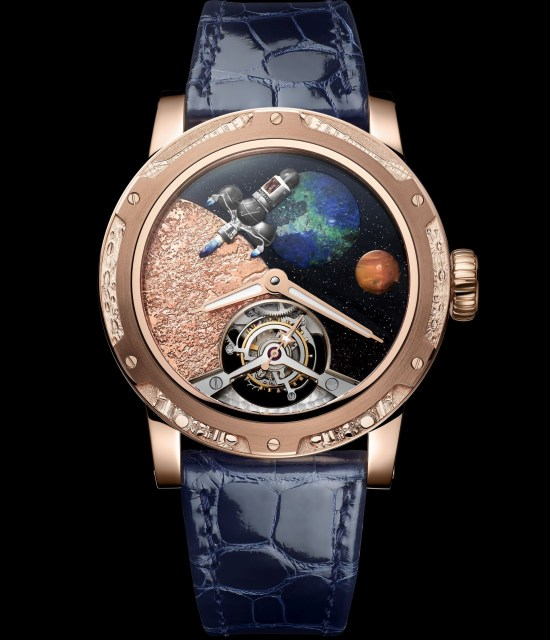 Louis Moinet Moon Race watch Last on the Moon - 1976