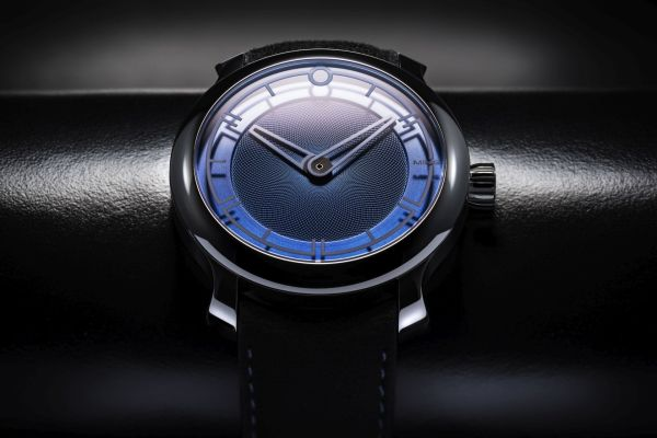 MING 17.09 watch blue dial