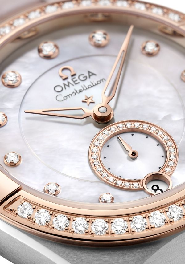 OMEGA Constellation Co‑Axial Master Chronometer Small Seconds 34 mm Reference 131.28.34.20.55.001