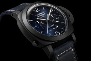 Panerai Luminor Chrono Monopulsante GMT Blu Notte Limited Edition (PAM01135)