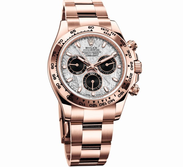 Rolex Oyster Perpetual Cosmograph Daytona, Reference 116505, 18 ct Everose Gold Case and Metallic Meteorite Dial
