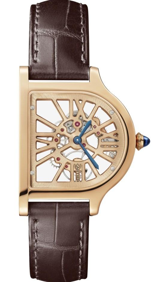 The Cloche De Cartier Skeleton Watch 18 pink gold case version