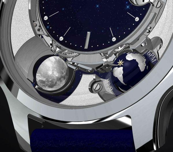 Vicenterra AstroLUNA Aventurine watch