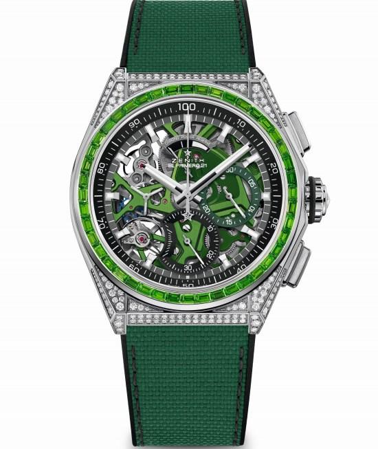 Zenith DEFY 21 Spectrum Green, Reference: 32.9008.9004/08.R943