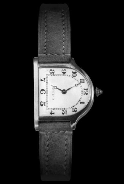 Vintage Cloche de Cartier wristwatch