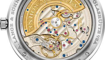 A. Lange & Sohne LANGE 1 Perpetual Calendar watch white gold model case back