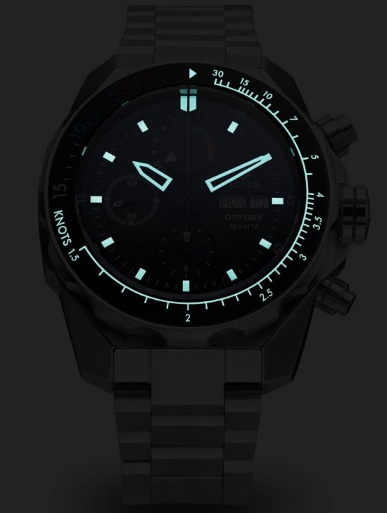 BOLDR Odyssey Regatta Automatic Chronograph