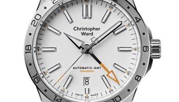 Christopher Ward C63 Sealander GMT automatic watch with bracelet