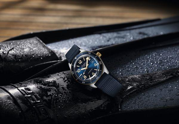 Glashütte Original SeaQ Bicolor diving watch