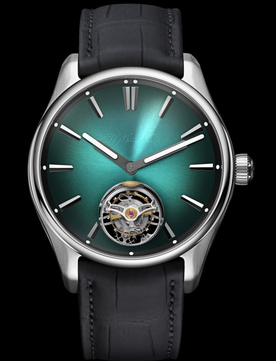 H. Moser & Cie. Pioneer Tourbillon MEGA Cool Limited Edition watch