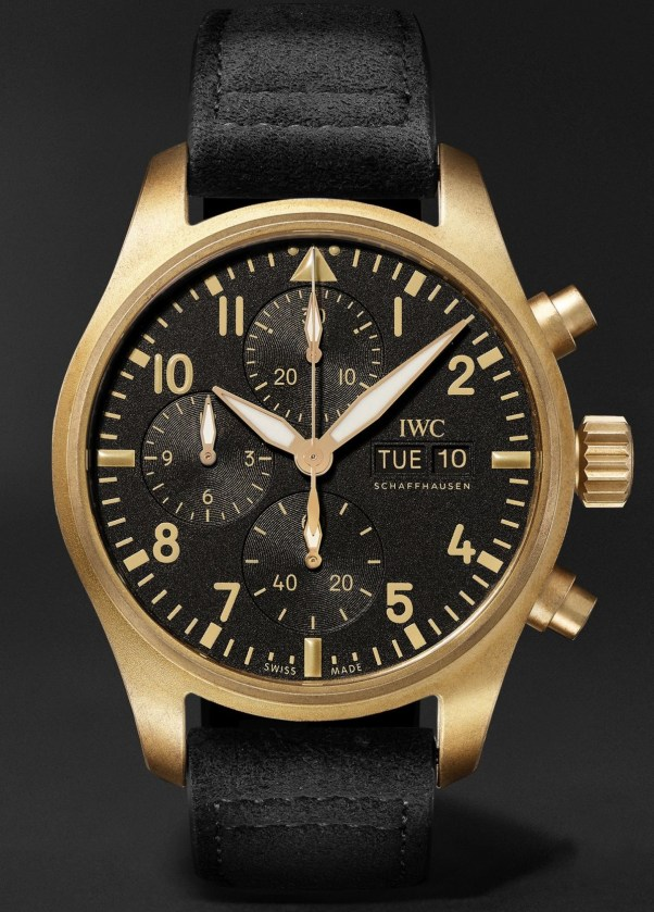 """IWC Schaffhausen """"10 Years of MR PORTER"""" Limited Edition Pilot's Watch Chronograph"""