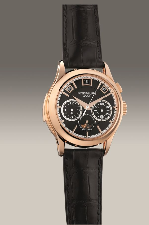 Patek Philippe Ref. 5208R-001 pink gold minute repeating perpetual calendar single-button chronograph wristwatch. Circa 2019. Estimate: HK$ 5,500,000 - 7,500,000