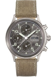 SINN 358 Sa PILOT DS Chronograph (with grinding dial)