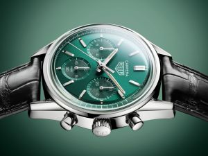 Tag Heuer Carrera Green Special Edition chronograph