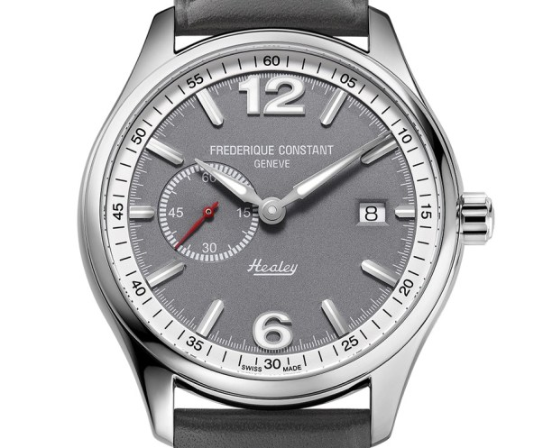 Frederique Constant Vintage Rally Healey Automatic Small Seconds stainless steel version with grey dial