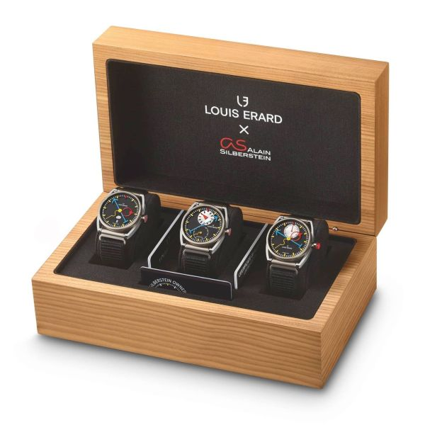 Le Triptyque Louis Erard x Alain Silberstein ref. 11111TT02 (special box set), Recommended retail price: CHF 11,111