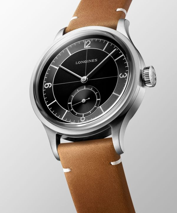 Longines Heritage Classic, New Model with Black Sector Dial