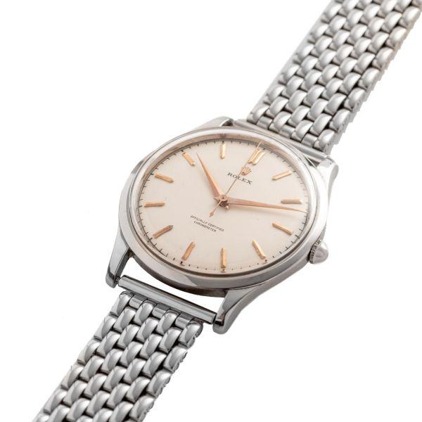 Rolex, Ref. 8029, Oversize Center seconds, Serpico Y Laino Caseback