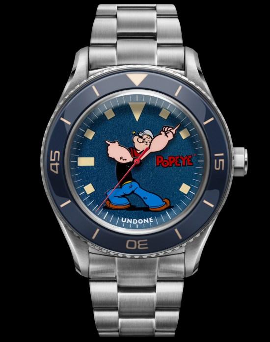 UNDONE x Popeye watch