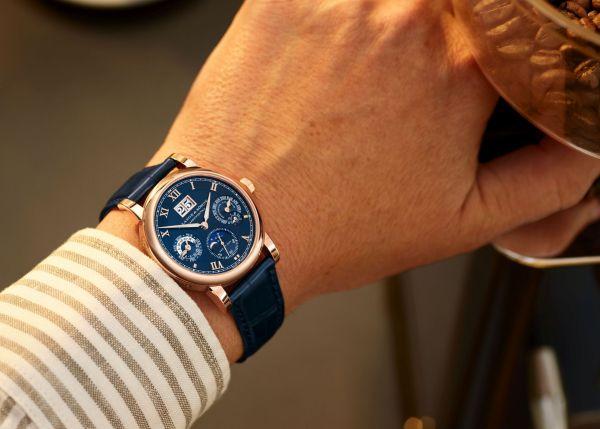 A. Lange & Söhne Langematik Perpetual, New Blue Dial Edition