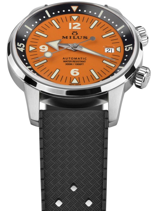 Archimèdes by Milus Orange Coral Limited Edition